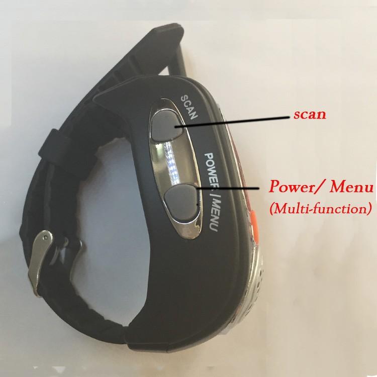 Rado Pair Two Wrist Watch Way Radios LCD Radio Walkie Talkie Watch For Portable Radio Set Handy Talkie Transceiver Radio Scanner  (1)