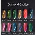 Hot sale! 2016 gel semi permanent cat eyes gel nail polish,magnetic uv gel camouflage make up gel