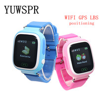 kids GPS tracker smart Watches Q90 G72 WIFI GPS LBS SOS call location Anti Lost touch screen Monitor Baby children watch 1pcs(China)