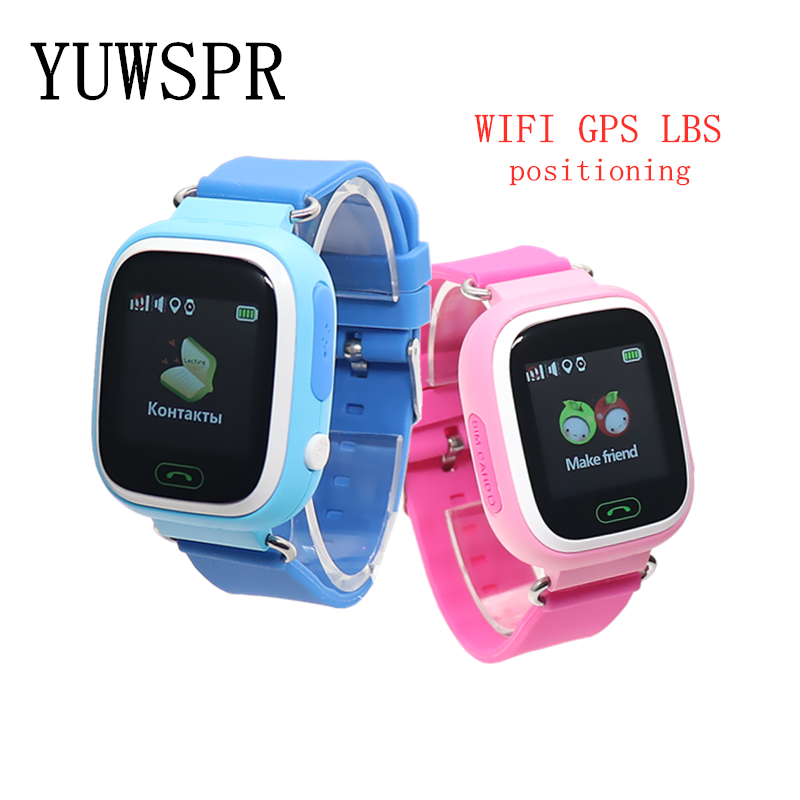 kids <font><b>GPS</b></font> tracker Watches WIFI <font><b>GPS</b></font> LBS location Anti Lost touch screen real time Monitor Baby children Smart Clock <font><b>Q90</b></font> G72 1pcs image