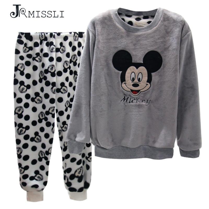 d01494e6fb JRMISSLI 2XL Flannel Winter Pajamas For Women Pijama Mujer Primark Pigiama  Pyjamas Women Winter Pajama Sets Pijama Feminino-in Pajama Sets from  Underwear ...