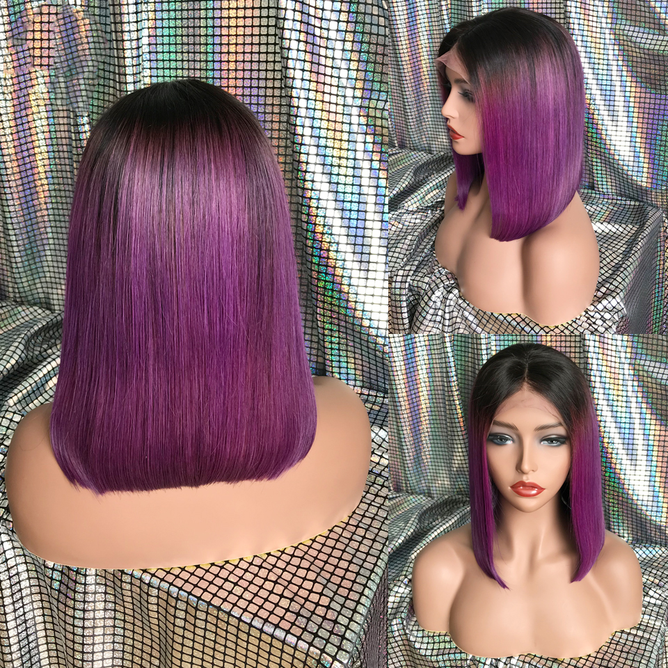 KL-Hair-Ombre-Color-Bob-Wigs-Pre-Plucked-Lace-Front-Human-Hair-Wigs-Straight-Brazilian-Remy (1)