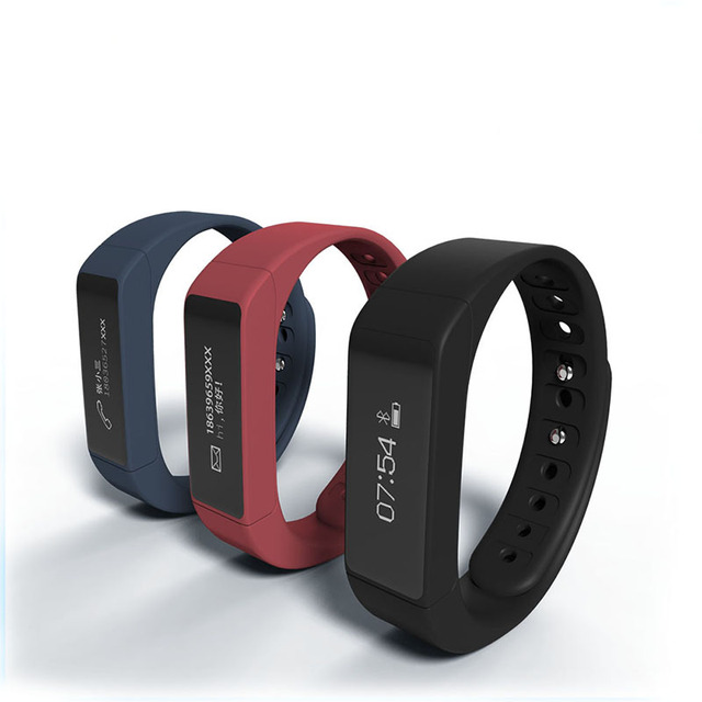 Fuster i5 más actividad física pulsómetro impermeable seguimiento inteligente de pulsera banda pantalla oled para android ios