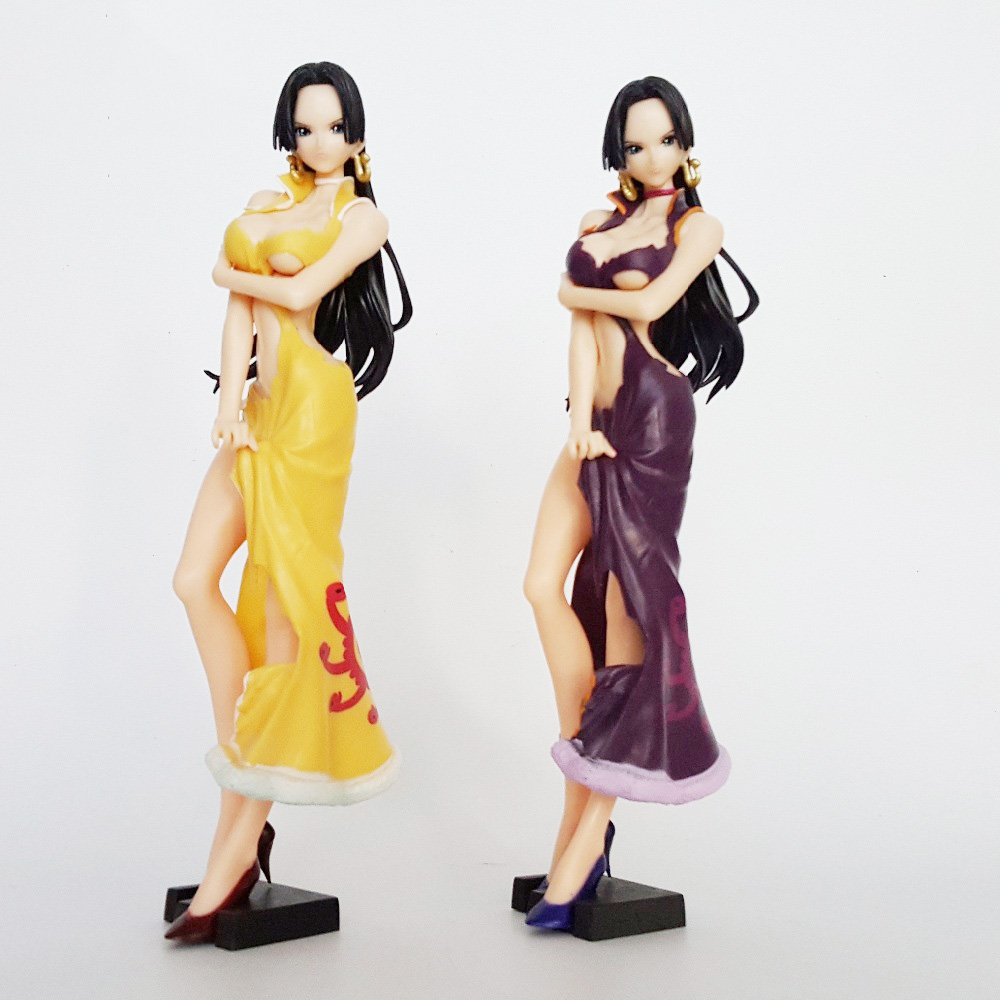 One Piece Glitter & Glamours Boa Hancock Crash Style PVC Action Figure Onepiece Collection Model Toy 24CM