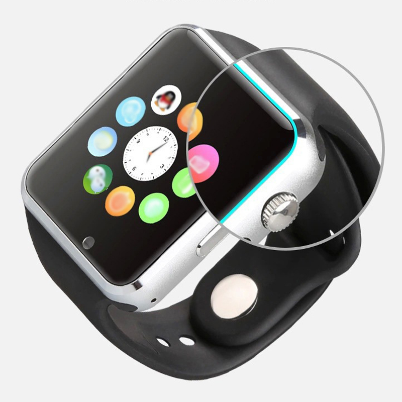 imágenes para 10 unids A1 TF Ranura SIM Reloj Inteligente reloj bluetooth para Apple android teléfono usable dispositivos gt pk 08 dz 09 relojes del relogio