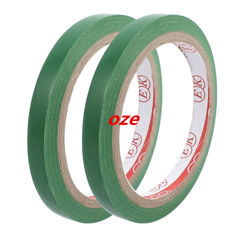 2pcs 1cm Width Safety Caution Reflective Warning Sticker Adhesive Tape 17M Long lust caution 3001