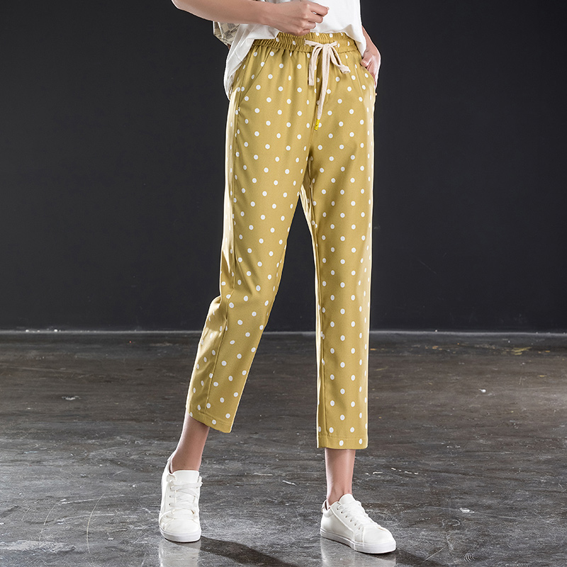 women ankle length pants for spring summer