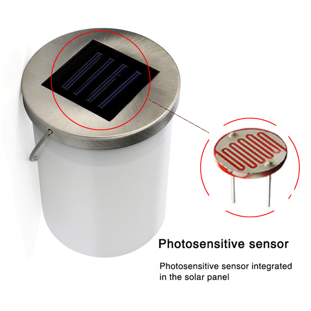 Led Solar Hanging Lamp Solar Lights For Garden Decoration Outdoor Waterproof Solar Panel Powered For Pathway Jar Lamp Camping