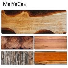 Коврик для мыши maiyaca с деревянным лицевым покрытием игровые