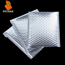 Bubble Aluminum foil anti-static Silver Mailer bag Packaging Anti-fall waterproof electronic product book clothing