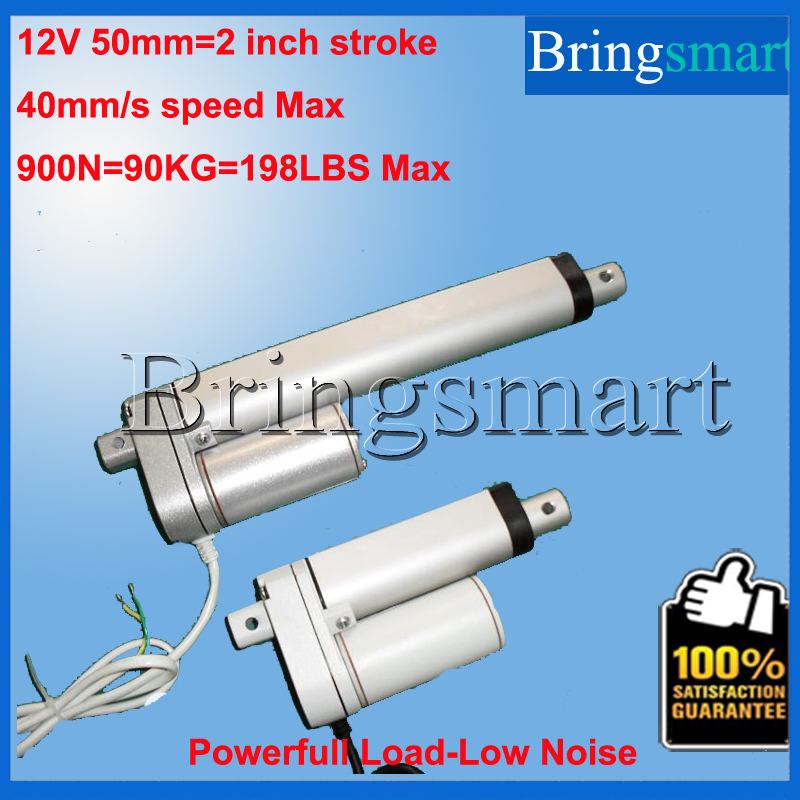 Wholesale IP65 50mm 2 Inch Linear Actuator 900N 90KG 12-48V DC stroke Tubular Motor Load Customized SpeedWholesale IP65 50mm 2 Inch Linear Actuator 900N 90KG 12-48V DC stroke Tubular Motor Load Customized Speed