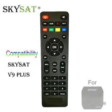 SKYSAT V9 Plus Extra tamanho Ultra Mini RC Remoto Controle REMOTO Contorl para Digital HD Receptor de Satélite DVB-S2 Set Top Box Sintonizador
