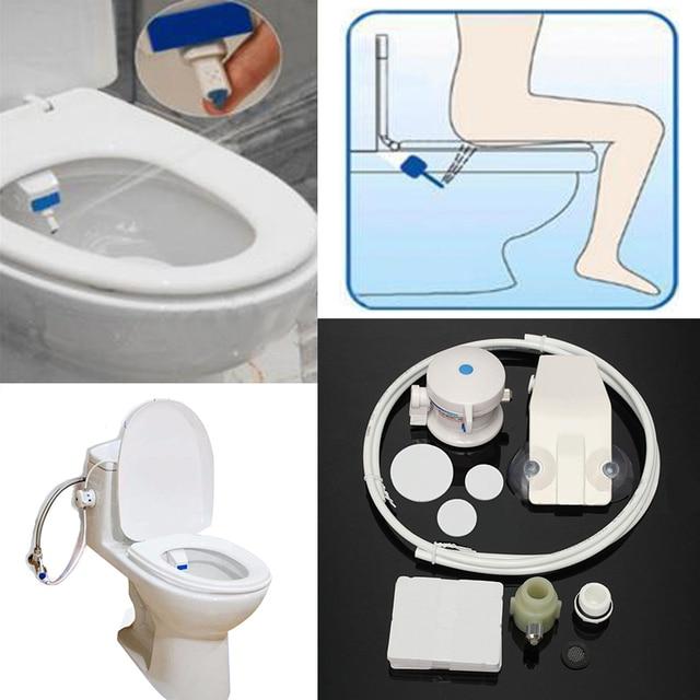 Unisex Badezimmer Smart Wc Bidet Hygiene Wasser Waschen Gun  Toilettenspülung Sanitär Bidet Sitz WC Bidet Für