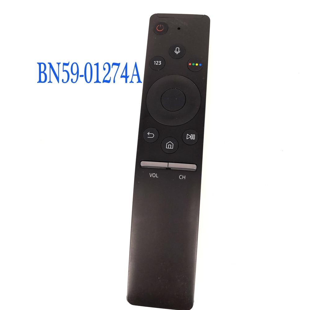 Used Original For Samsung BN59-01274A Smart touch TV Remote Control With Voice original rmf tx200e voice remote control for sony voice search with netflix