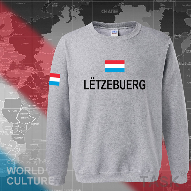 Luxembourg Luxembourger hoodies men sweatshirt sweat new hip hop streetwear clothing sporting tracksuit nation LUX Luxemburg