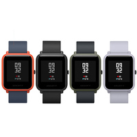 Xiaomi Huami AMAZFIT Bip Smartwatch GPS Gloness IP68 Waterproof Watch Heart Rate Geomagnetic Sensor Watch 1.28 45 Days Standby