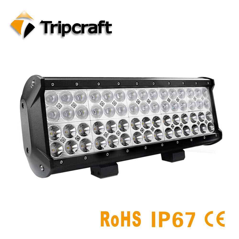 TRIPCRAFT 180W LED light bar Waterproof 4-Rows LED car light Combo Beam for ATV SUV 4WD Boat Truck 4x4 high brightness lamp high power 4d 180w led work light bar single row 29 3inch car lamp for offroad 4x4 truck atv suv 4wd combo beam driving fog lamp
