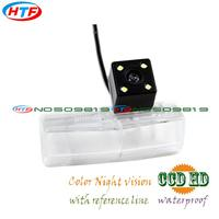 Wire Wireless Ccd HD Night Vision 4 LEDS For Lexus CT200H 2011 2012 2013 Car Rear