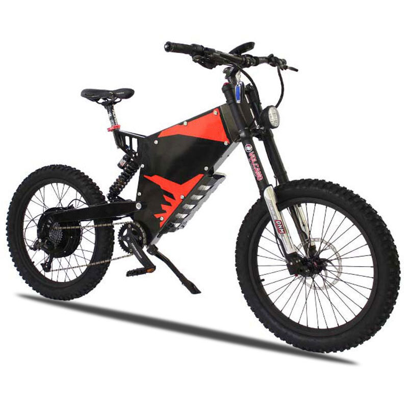 Custom E-MOTOR Electric motorcycle 72V 3000W/5000W Ebike Plus Stealth Bomber Stealth electric mountain bike off-road ebike EMTB