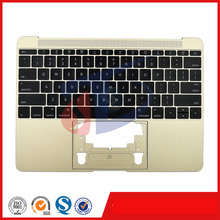 2015year gold original for macbook 12inch retina A1534 keyboard topcase topcover Palm Rest