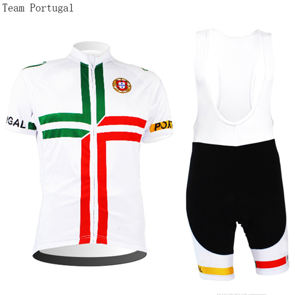 Portugal Cycling Jersey Set Summer Bicycle Clothing Maillot Ropa Ciclismo Hombre MTB Bike Clothes Sportswear Suit Cycling Set
