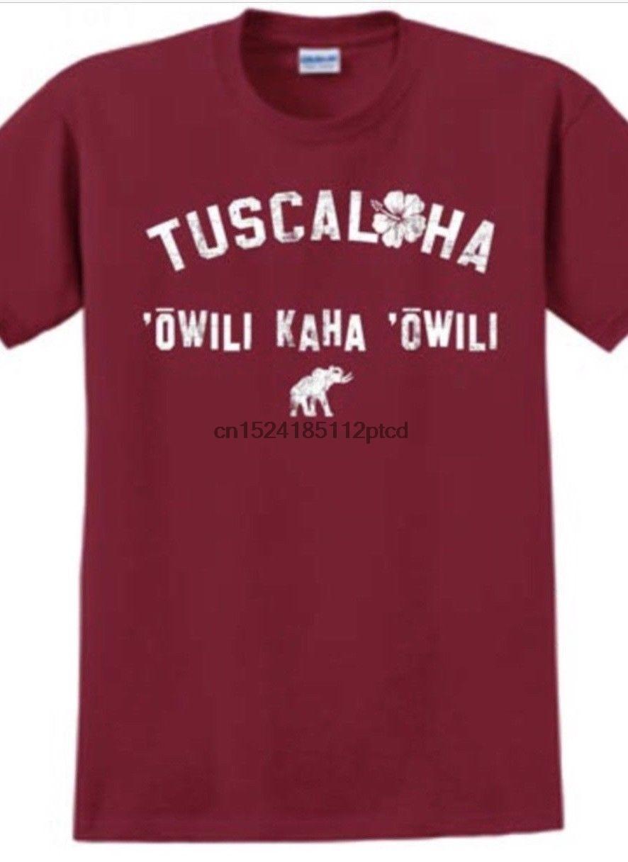 cheap for discount b0878 b5709 US $12.99 |TUSCALOHA Alabama Crimson Champions Hawaiian T Shirt Tua  Tagovailoa Roll Tide-in T-Shirts from Men's Clothing on Aliexpress.com |  Alibaba ...