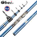 Obei Japan Volle Fuji Tele Surf Rod teleskop angelrute 80-150 Lange Casting Pole Angelrute surf stange 3.85M4.05M4.25M