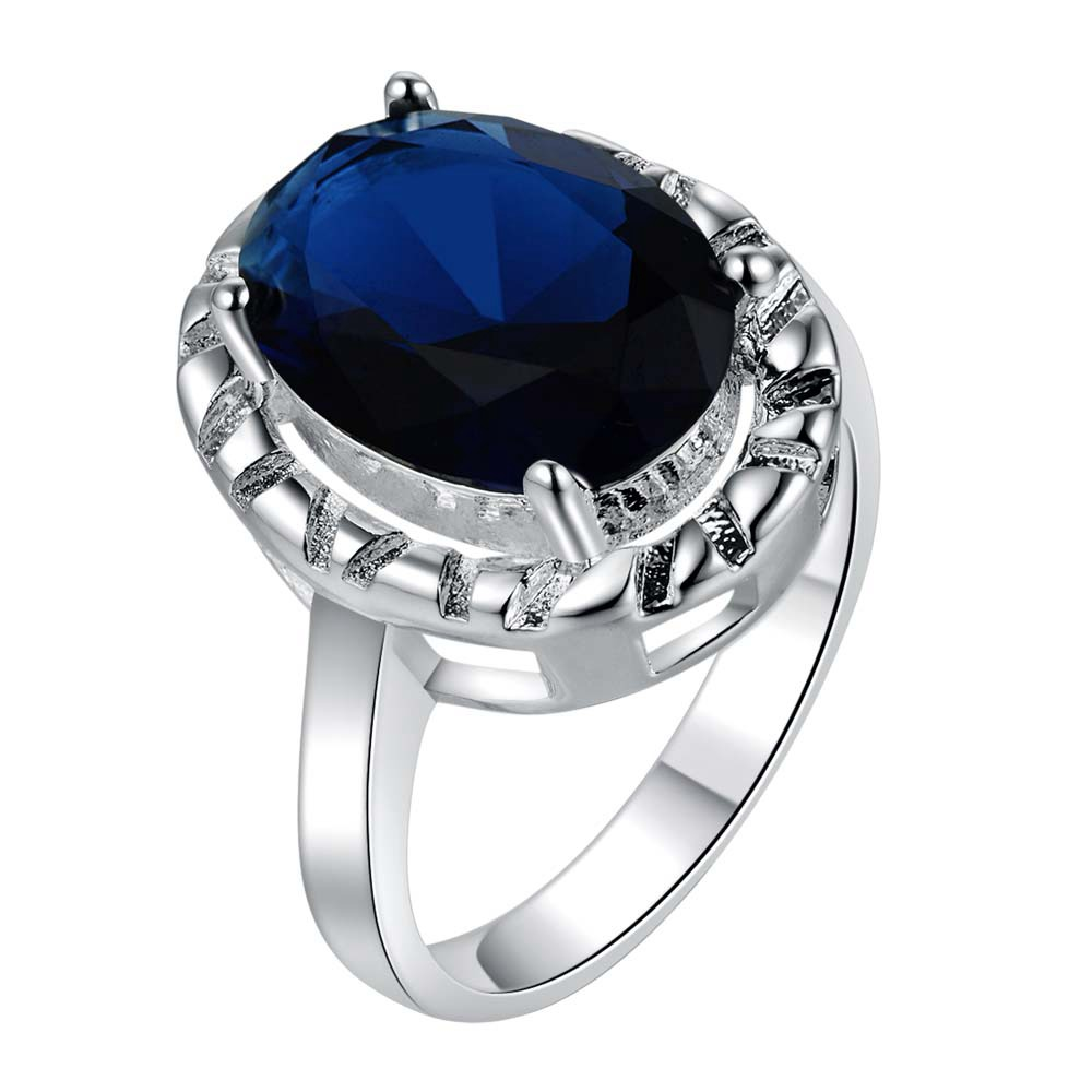 aa663bcf0d458 Moda preto zircon atacado 925 jóias de prata banhado anel, Anel bijuterias  para mulheres,   Qvvddbza UMEVGGID