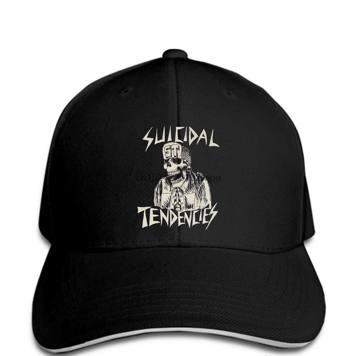 fb1631962ac5f BLACK SUICIDAL TENDENCIES NEW cap THRASH METAL ROCK PUNK ST Quality Baseball  caps Men