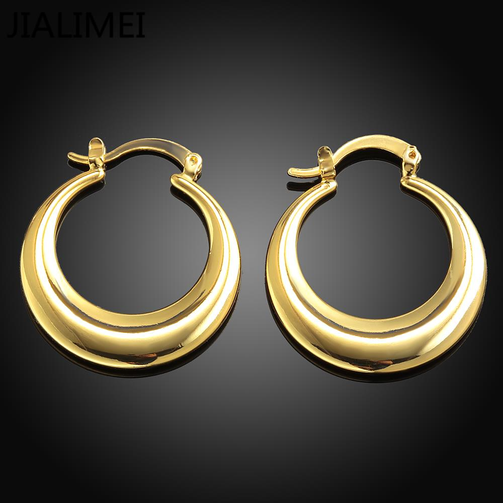 Новое поступление Роскошь розовое золото Цвет Серьги для Обручение Для женщин Циркон Кристалл jialimei ювелирный бренд e030-a