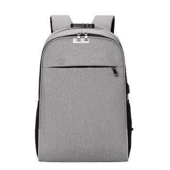 be7eedc6b8b41 Anti-hırsızlık USB Sırt Çantası sırt çantası 15.6 inç laptop sırt çantası  kadın Erkek okul sırt çantaları erkek kız Erkek Seyahat mochila Çantası #10