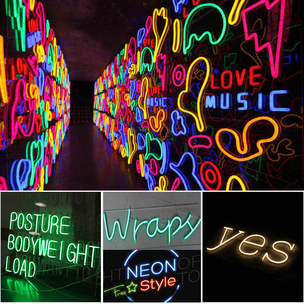 12V Led Flexible Neon Strip 2835 Round Tube Diode Tape For Outdoor  Decorative Lighting Neon Light Strip Cutable 1M 2M 3M 5M 10M| | - AliExpress