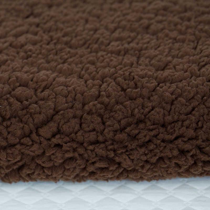 Multi verwenden korallen fleece wincey polyester berber fleece stoff puppe pet tuch DIY handmade Material Stoff