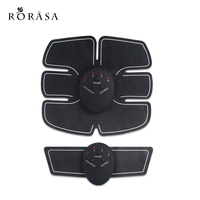Fashion Abdominal Muscle Trainer Body Massage Electric Slimming Massage Training Pads Effective Fat Burner Gymnic Belt