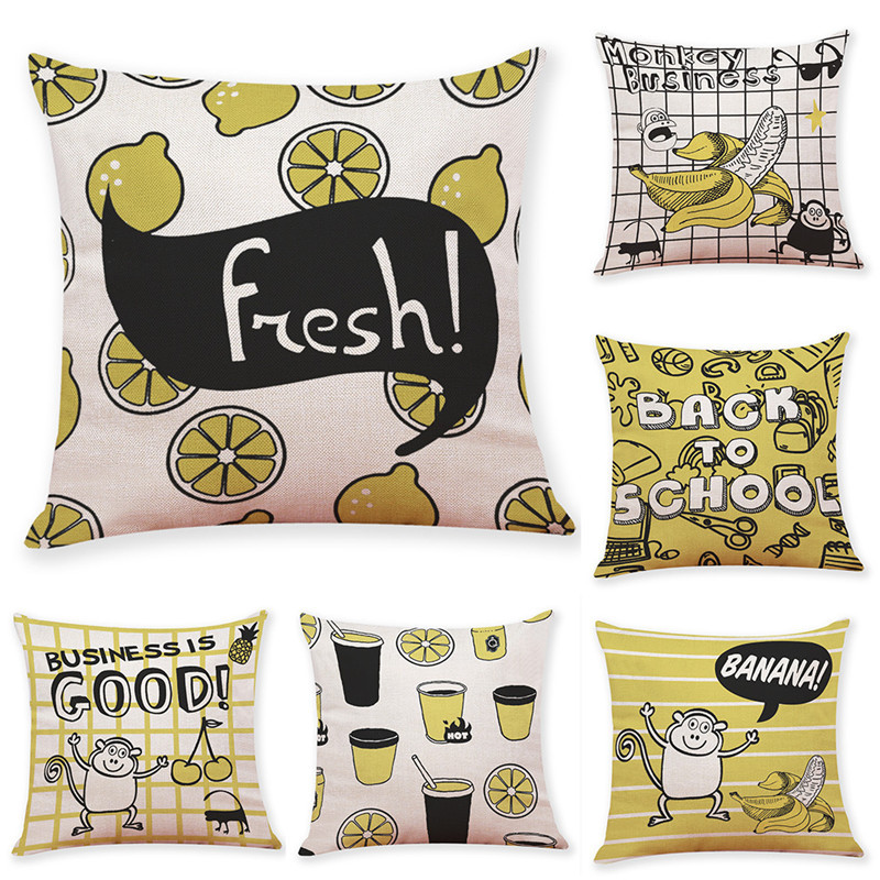 Image 5 - ISHOWTIENDA Fashion Cotton Linen Square 2019 New Arrival Home Decorative Throw Pillow Cove Sofa Waist Cushion Cover High Quality-in Cushion Cover from Home & Garden