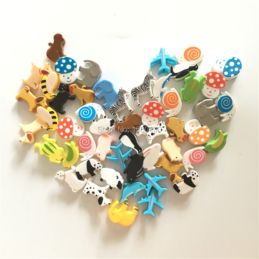 (48pcs/lot)Novelty Cartoon Gift Clip/ Cute Animal Photo Clip For Wedding/party Decoration/ Mini Plastic Paper Clip Kids Gift