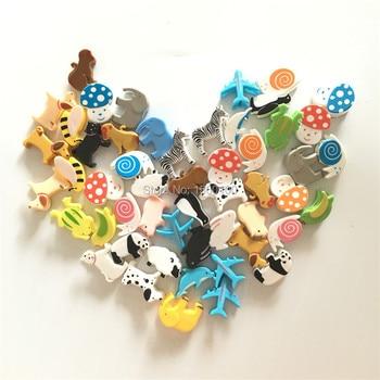 (48pcs/lot)Novelty cartoon gift clip/ cute animal photo clip for wedding/party decoration/ mini plastic paper kids