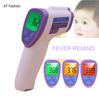 Thermometer Body Temperature Diagnostic Tool For Baby Non Contact Infared Thermometer 3 Color Backlight Digital Thermometer