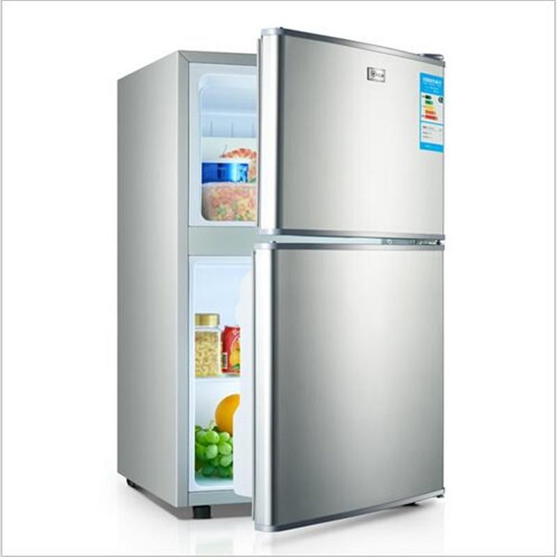 108l mini fridge portable refrigerator cold storage. Black Bedroom Furniture Sets. Home Design Ideas