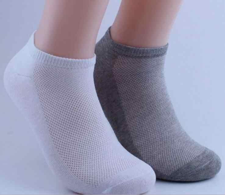 ถุงเท้าข้อเท้าขนาดเล็กสบายๆผ้าฝ้ายโพลีเอสเตอร์ยืดหยุ่นเรือ Breathable สำหรับฤดูร้อนฤดูใบไม้ผลิชายชายชาย Wh