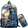 Alita: Боевой Ангел рюкзак для подростков mochila с принтом  школьная сумка для ноутбука  рюкзак для детей