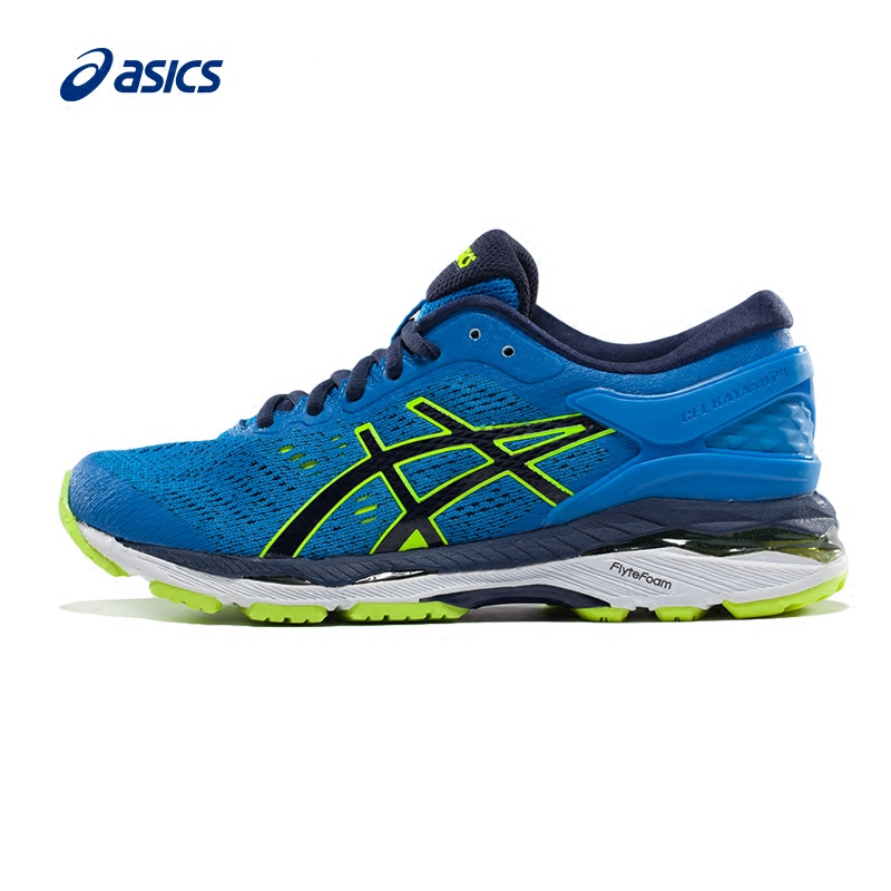 Original ASICS GEL-KAYANO 24 Unisex Teenager Stability Running Shoes Sports Shoes Sneakers Comfortable Outdoor Walking Jogging