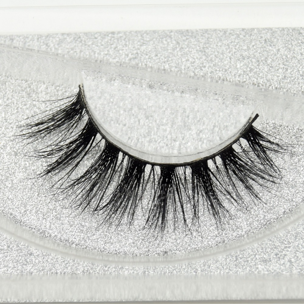 Visofree Eyelashes 3D Mink Eyelashes Long Lasting Mink Lashes Natural Dramatic Volume Eyelashes Extension False Eyelashes D23