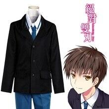 Tooru Kokonoe Cosplay Costumes Anime Absolute Duo Cosplay Uniforms Men / Women Free Shipping (Blazer + Shirt + Pants + Necktie)
