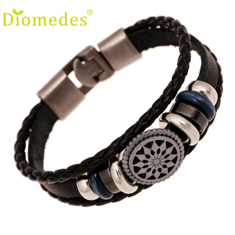 Stylish Bar 1PC Women Men Bracelet New Fashion Jewelry Rhinestone Crystal Handmade Metal Beaded Bracelet Gift For Girl #0314