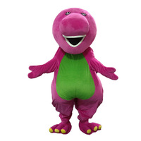 Barney Dragon Mascot costumes Adult Size Barney dinosaur Mascot Costume