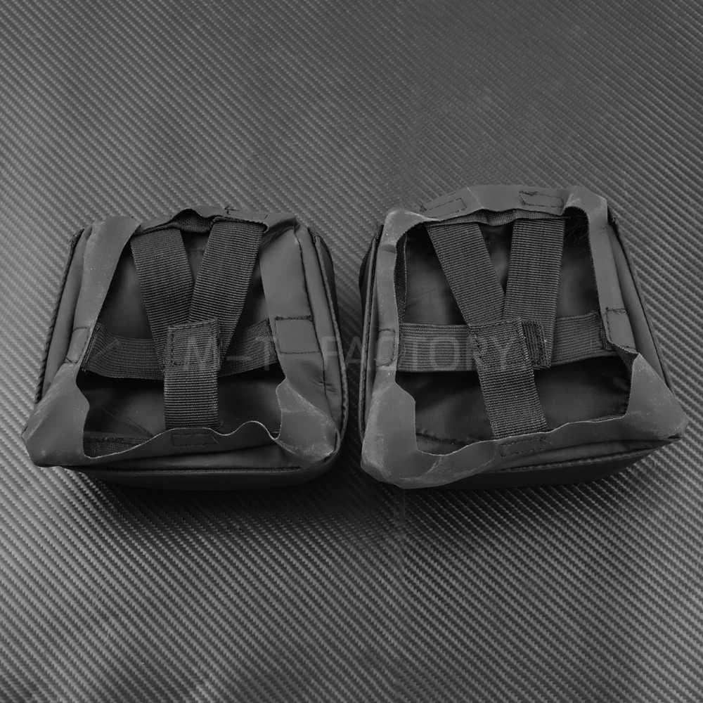 Motorrad Untere Entlüftet Bein Verkleidung Handschuh Box Werkzeug Tasche Für Harley Touring Street Glide Road Glide Electra Glide 2014-2017 2018