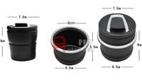 Black Console Centre Middle Cigarette Ashtray Storage Box For BMW X6 E71 2008 2014 F16 2015