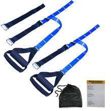 Resistance Bands Elastic Band Fitness Hanging Training Strap Exercise Strength Trainer Belt Fitness Equipment Workout Crossfit
