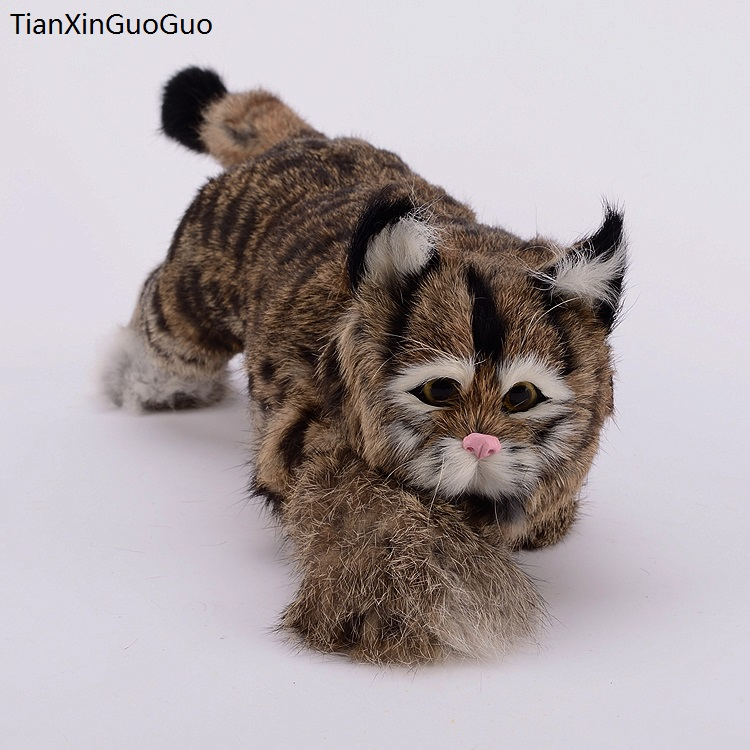 simulation dark khaki cat hard model,polyethylene&furs cat large 40x14x13cm handicraft ,home decoration gift s0718 large 21x27 cm simulation sleeping cat model toy lifelike prone cat model home decoration gift t173